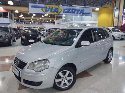 Volkswagen Polo 1.6 Sportline 8v Flex * Faz Sem Entrada *