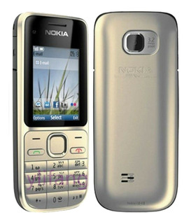 Celular Nokia C2 01,cor Exclusiva Golden