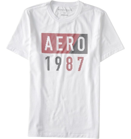 Camisa Plus Size Masculina Aeropostale Stratch Original