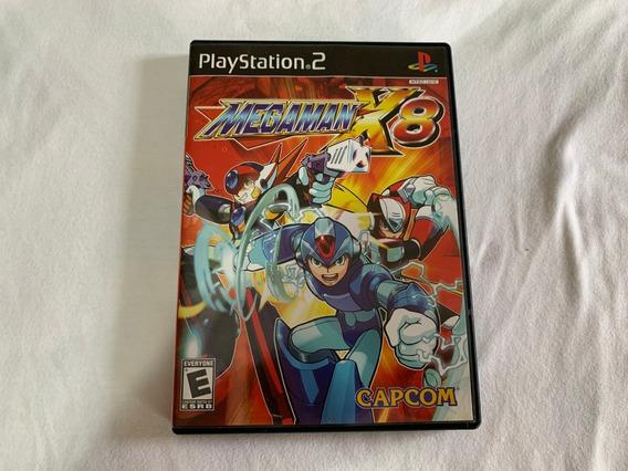 Mega Man X8 Ps2 Original Americano Completo