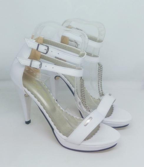 Sandalias Mujer Cuero Riot Art 102 Zona Zapatos