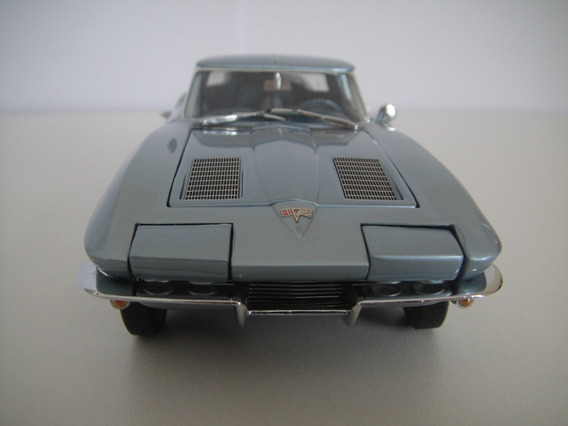 Corvette Sting Ray 1963 - Le - Franklin Mint - Fiberglasss