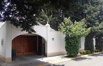 Casa En Renta De Un Piso En Residencial La Virgen Metepec