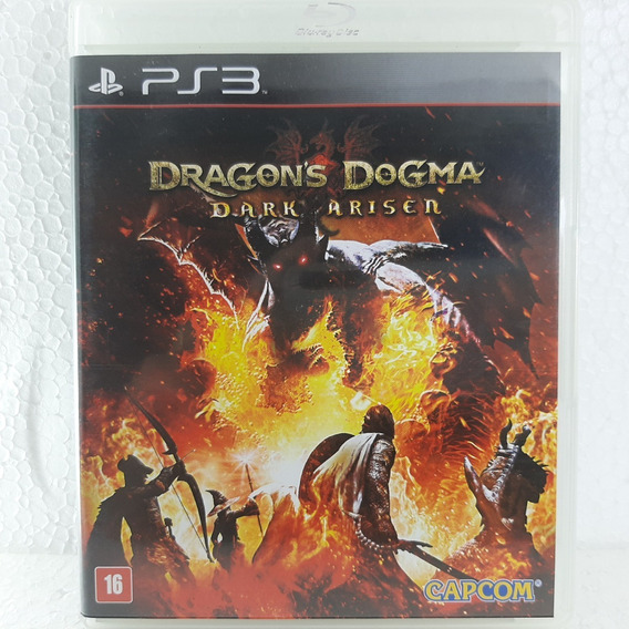 Dragons Dogma Dark Ariser Jogo Ps3 Original Mídia Física