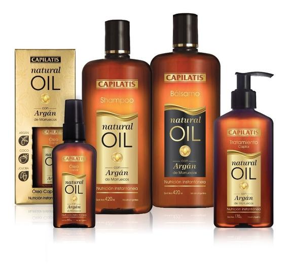Natural Oil Capilatis Set Nueva Línea