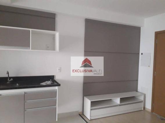 Studio Com 1 Dormitório Para Alugar, 40 M² Por R$ 1.850/mês - Jardim Aquarius - São José Dos Campos/sp - St0006