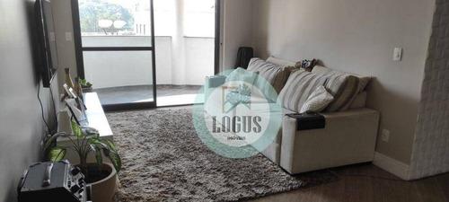 Imagem 1 de 30 de Apartamento Com 3 Dormitórios À Venda, 132 M² Por R$ 785.000,00 - Rudge Ramos - São Bernardo Do Campo/sp - Ap1865
