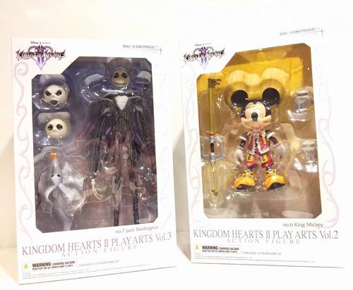 Kingdom Hearts Jack Skellington & Mickey Mouse Figuras Nuevo