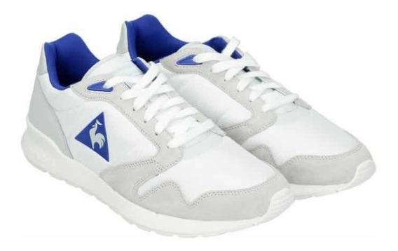 Zapatillas Lecoq Sportif Modelo Omega Mesh Color Blancas