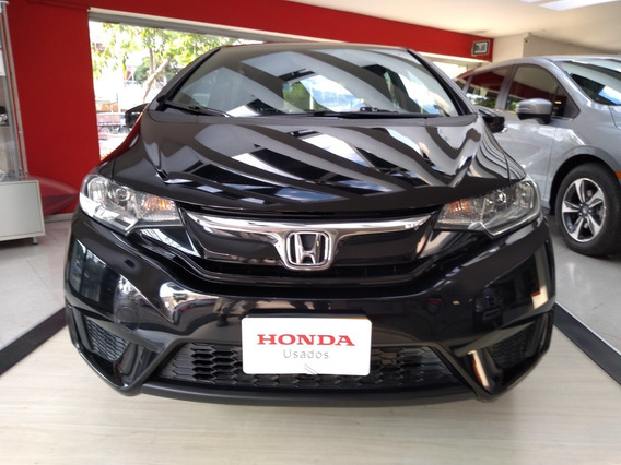 Honda Fit Lx At Negro Cristal 2016