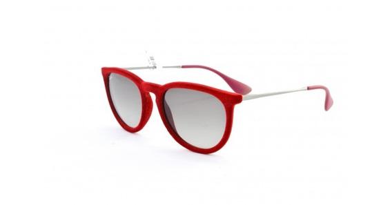 Óculos De Sol Ray Ban Erika Velvet Rb4171 6076/11 Acetato
