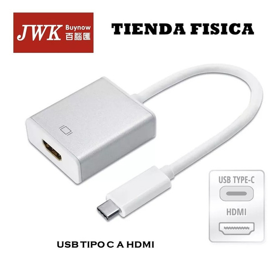 Cable Adaptador Usb 3.1 Tipo C A Hdmi Jwk
