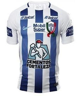 Camisa Pachuca 17/18 Unif. 1 - Pronta Entrega