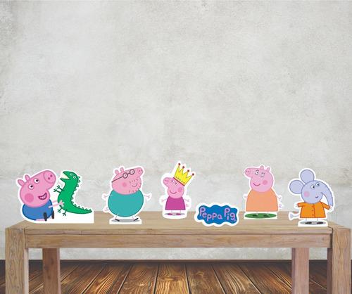 Imagem 1 de 4 de Peppa Pig Displays Mesa Festa Infantil