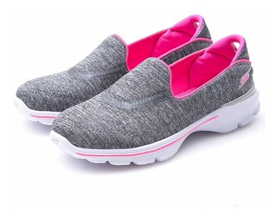 Tênis Skechers Go Walk 3 Feminino - Original