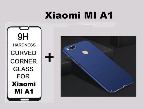 Funda Xiaomi Mi A1 + Vidrio Templado 5d Envio Gratis