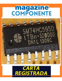 2x Sm74hc595d - 74hc595 D - 74hc595 - Ci - Smd - Lacrado