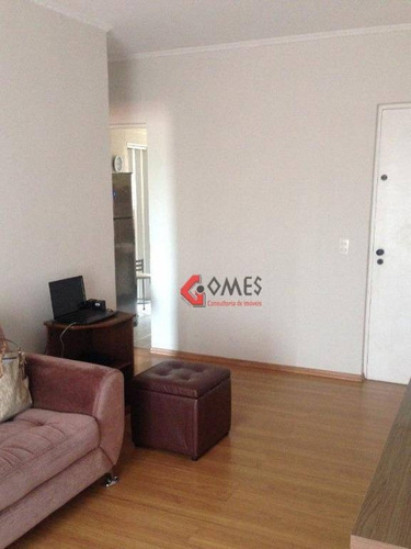Apartamento Com 1 Dormitório À Venda, 76 M² Por R$ 215.000 - Santa Terezinha - São Bernardo Do Campo/sp - Ap2521