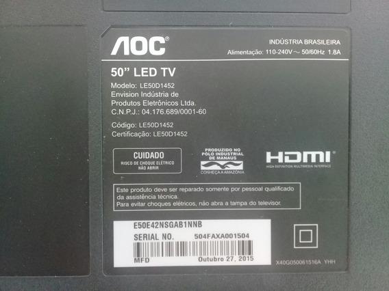 Teclado - 715g6316 + Sensor Remoto 715g7381 Tv Lg Le50d1452