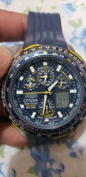Relogio Citizen Eco Drive Skyhawk Blue Angels