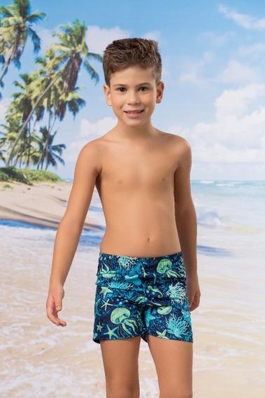 Short Infantil - Masculino - Estampado