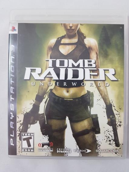 Tomb Raider Underworld Ps3 Mídia Física Pronta Entrega