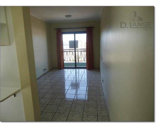 Imagem 1 de 24 de Apartamento Com 2 Dormitórios À Venda, 62 M² Por R$ 370.000 - São Bernardo - Campinas/sp - Ap11833