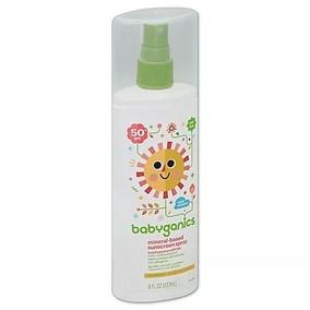 Babyganics Spf50 Spray 177ml - Pronta Entrega