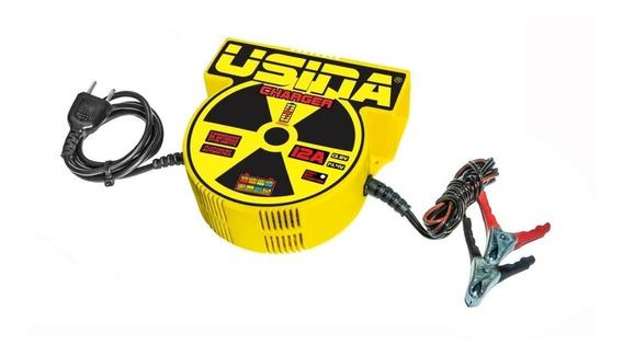 Carregador De Baterias Carro E Moto 12a 12v Usina