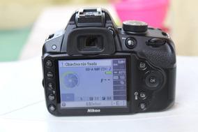 Corpo Câmera Nikon D3200 - Usado 11901 Clicks