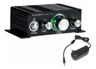 Kinter Ma170+ - Mini Amplificador De Graves Con Entrada R