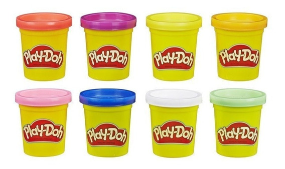 Massinha Play Doh 8 Potes - Hasbro E5062