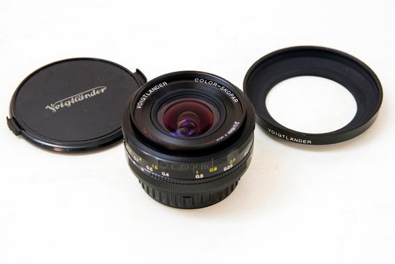 Lente Voigtlander Color-skopar 20mm 3.5 P/ Nikon
