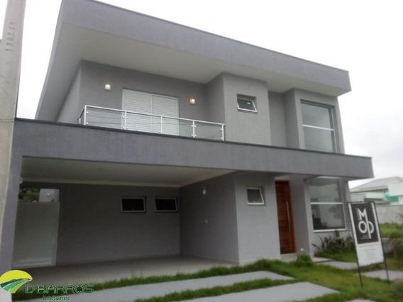Sobrado Novo Com 250 M² De Área Construída Com 3 Suítes No Condomínio Morada Do Visconde -tremembé/sp - 6061 - 34684988