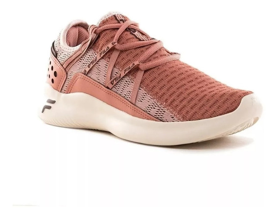 Fila Zapatillas Running Mujer Quark Rosa Claro