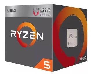 Microprocesador Amd Ryzen 5 2400g Am4 Micro Procesador