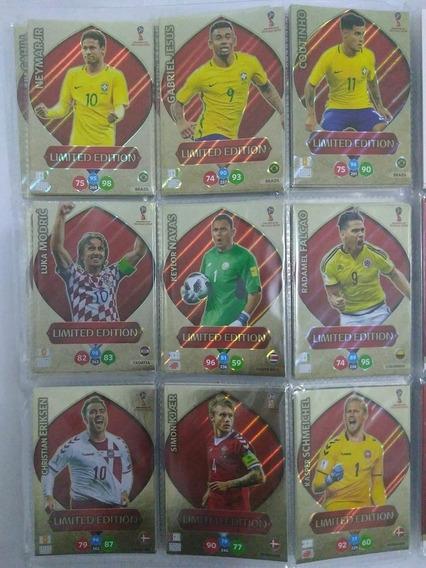 Coleção Completa Cards Adrenalyn Xl Copa Russia 2018