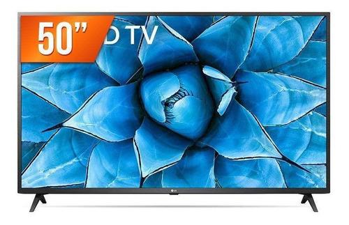 Imagem 1 de 3 de Smart Tv Led 50  4k Uhd LG 50un731c 3 Hdmi 2 Usb Wi-fi