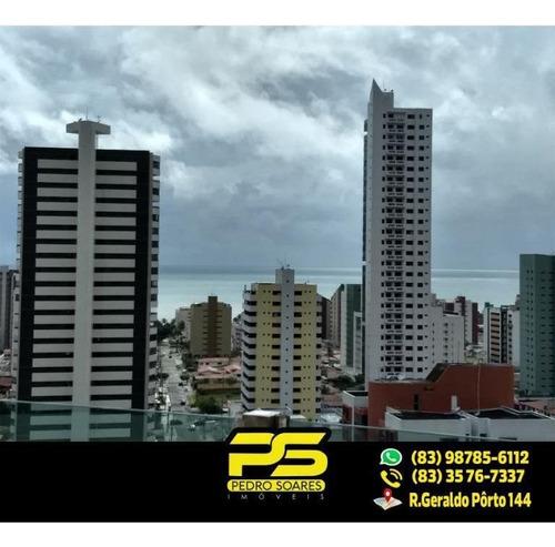 Imagem 1 de 5 de ( Oferta ) Cobertura C/ 4 Suítes Em Manaíra - Co0013