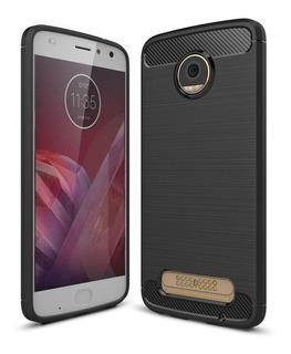 Funda Textura Motorola Moto C E4 G5 G5s G6 Plus Z2 Play X4