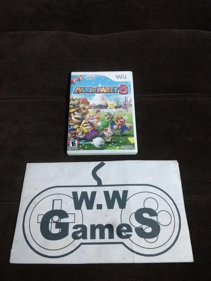 Nintendo Wii - Mario Party 8 - 100% Original