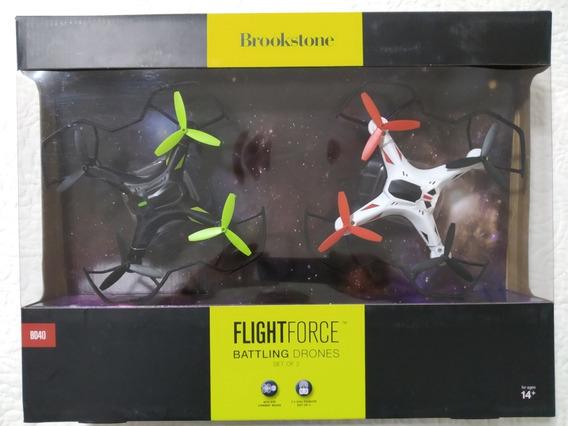Brookstone® Bd40 Flight Force Conjunto 2 Drones De Batalha