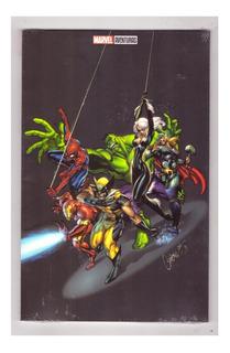 Marvel Comics # 1000 - Marvel Aventuras - P V 2 - Televisa