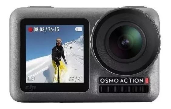 Camera De Açao Dji Osmo Action A Prova D