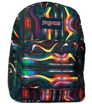 Mochila Jansport Superbreak Multi Frequency 25 Litros