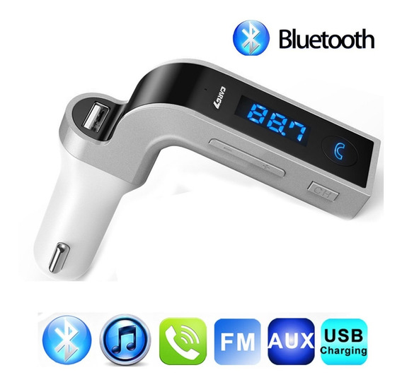 Adaptador Para Radio Con Función De Mp3 Aux Usb Bluetooth