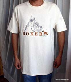 Polera Gr8 Dogs Boxer Mascota Talla L