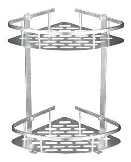 Estante Triangular De Aluminio, El Baño Ahorra Espacio