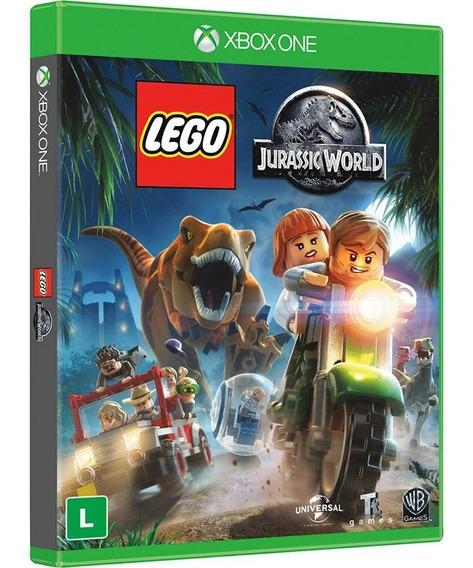 Jogo Lego Jurassic World Xbox One Midia Fisica Dublado Novo