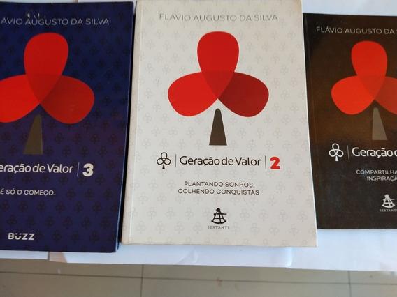 Livro Geração De Valor 1,2,3 Trilogia !!!